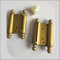 Best Steel Iron Metal Material Spring Loaded Hinges Double Action Small Size wholesale