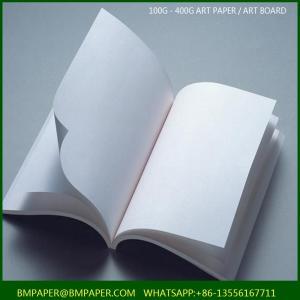 China Gloss Coated 2 Side Art Paper on sale