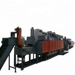 Best 160-1000 Kg/H Continuous Mesh Belt Furnace With PID Temperature Regulation wholesale