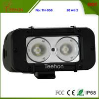 Best 20W 5 Inch Single Row CREE off-Road LED Light Bar for 4WD Vehicles wholesale