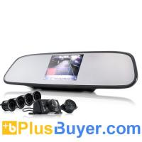 China Car Rearview Camera + Parking Sensor + 3.5 Inch Rearview Monitor on sale