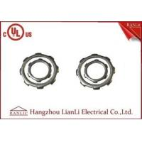 China Zinc EMT Conduit Fittings Steel Locknuts Thread One Round or Two Round 2-1/2 on sale