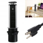 Best Reliable Kitchen Pop Up Power Sockets , Pop Up Power Outlet Reliable Design wholesale