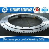 Best High Precision HS Single Row Ball Slewing Bearing For Mechanical Handling wholesale