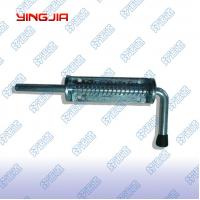 China 02411   Truck Spring Bolt, Hardware spring loaded metal bolt latch on sale