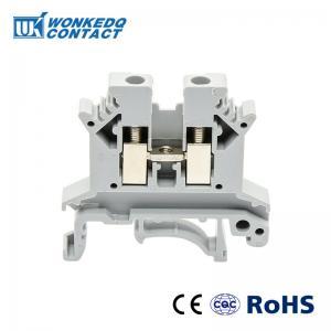 China JUK 2.5B 2.5mm Screw Din Rail Terminal Block Phoenix Manufacturer High Quality inflaming retarding China on sale