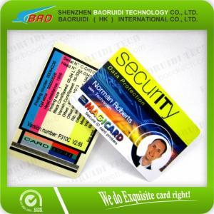 Best plastic portrait id smart card wholesale