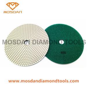 China 180mm Dry Resin Bond Diamond Dry Floor Concrete Polishing Pads on sale