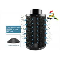 Best Aluminum Flange Carbon Air Cartridge Filter For Hydroponic Deodorization wholesale