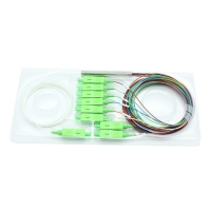 Best OMC 1*8 SC APC 900um G657A1 Fiber Optic PLC Splitter wholesale