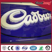 Waterproof led outdoor advertising acrylic sign board