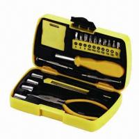 Best 20 Pieces Mini Tool Set for Promotional with 7/8/9/10mm Sockets, Logo Customized, Easy to Carry wholesale
