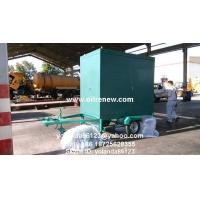 China Mobile Transformer Oil Filter Plant | Long Distance Moving Vacuum Transformer Oil Purifier on sale