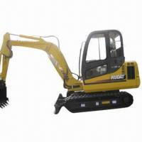 Best Crawler Excavator, 4.2T Operating Wiehgt, Equipped with Yanmar/Cummins Engine and A/C, Rubber Trac wholesale