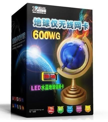 Cheap signalking 600WG 2000mW 48dBi 54Mbps High Power Clipper b/g USB Wireless/Wifi Adapter  for sale