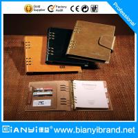 Best Loose leaf notebook with 6 metal ring wholesale