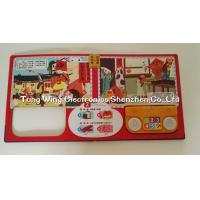 Cheap ABS + CCNB 6 Button and  2 LED Module For Intellectual Baby Play A Sound Book for sale