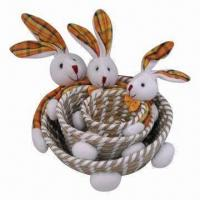 Best 3-piece Handmade Gift Basket, Ideal for Holiday/Christmas/Easter wholesale