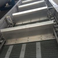 China Stainless Steel Mesh Wire Conveyor Fire Resistant on sale