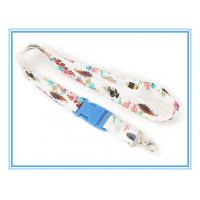 China best price excellent quality custom heat transfer Sublimation polyester Lanyard neck strap on sale