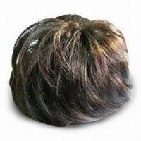 Best Wig, Made of Human Hair Kanekalon or Chinese Fiber, Available in Various Colors wholesale