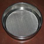 Best Laboratory Wire Mesh Sieve , 10 30 50 60 80 Micron Stainless Steel Fine Mesh Sieve wholesale