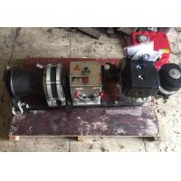 Buy cheap Single Capstan Fast Speed Cable Winch Puller Diesel Engine In Line Construction from wholesalers