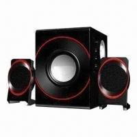 Best 2.1-channel Speaker System with 20W Subwoofer Power, Made of ABS Plastic Satellite wholesale