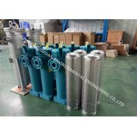 China Stainless Steel Bag Filter Housing , High Pressure Chemical Top Inlet SS Filter Housing on sale