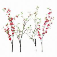 Buy cheap Artificial Cherry Flowers, Suitable for Decoration from wholesalers