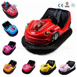 Best Used Amusement Games , Bumping Car , Amusement Rides Fiberglass Body Bumper Car wholesale