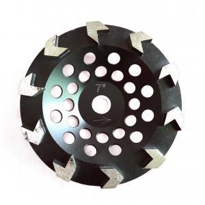 China Arrow Seg Concrete Cup Wheel Metal Bond Diamond Gridning Wheel With Aggressive Grinding Performance on sale