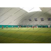 Temporary White Inflatable Event Tent For Putdoor Football Sport Playground