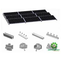 Best Off - Grid Stable Ballasted Solar PV Energy Bracket Aluminum Structure Solar Racking Systems Solar Panel Supporters wholesale