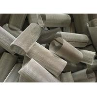 Best 0.025 - 2.5 Mm Wire Mesh Filter Element Cylinder Alloy Mesh For Water Filter wholesale