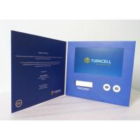 Best Advertising Promotional Custom Video Greeting Cards 7 Inch With OSD Language wholesale