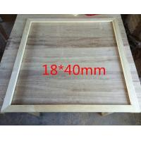 Best High Quality Pine wood Picture Frame For DIY Picture And Canvas Panel Framing wholesale