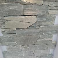 China cultured natural stone slate tiles exterior wall cladding tiles on sale
