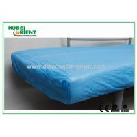 Best Breathable CPE  Disposable Bed Protectors Hospital Bedding Sheets wholesale