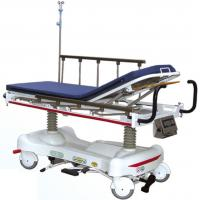 Double Hydraulic Medical Patient Transport Stretcher For Emergency / ICU Room