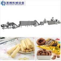 China hot sales Puff Corn Snack Production Line Puffed core filling food machine Food snack extruder machine on sale