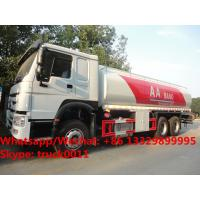 Best HOT SALE!high quality and bottom price SINO TRUK HOWO 20,000Liters bulk oil tank truck/ diesel tank delivery truck wholesale
