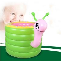 Best New Kids Baby Swimming Pools Inflatable Snail Bathtub Water Fun Round Pool wholesale