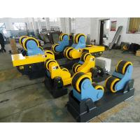 China 3kw Motor Power, 40 T Steel / Rubber Pipe Welding Rotator with Remote Hand Control Box on sale