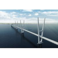 China Steel Structure Cable Stay Bridges , Compact Cantilever Truss Bridge on sale