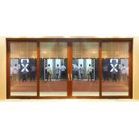 Best Water proof low threshold white aluminum sliding glass doors for meeting room wholesale