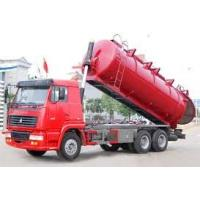 China 12M3 Sewage Suction Truck 6X4, 10 wheel garabe collection truck,toilet rubish sucktion , sewage collector on sale