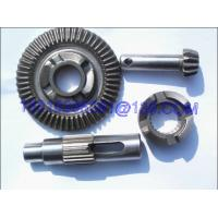 China Forged Steel CNC Machining Bevel Gear , Heavy Duty Spur Gear And Helical Gear on sale
