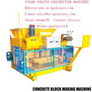 China Chinese Machinery Automatic Cement Concrete Block Making Machine 6-25  Moulding Machine on sale