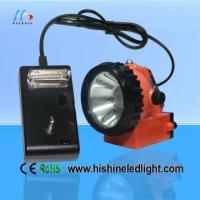 Best 1W 50 / 60Hz DC 3.7V LED Mining Cap HeadLamps and 2.8Ah Rechargeable Battery For Fishing wholesale